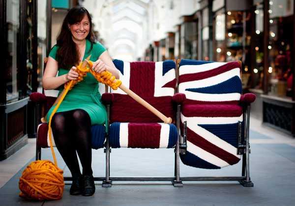 Knitting And Handmade Home Furnishings By Melanie Porter