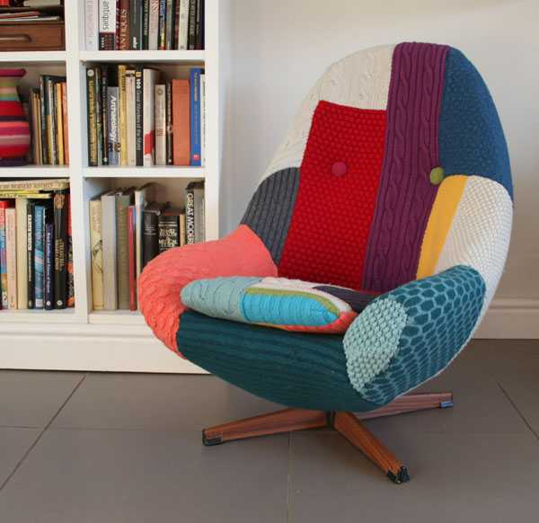 Knitting and handmade home furnishings by melanie porter for All home decor furniture