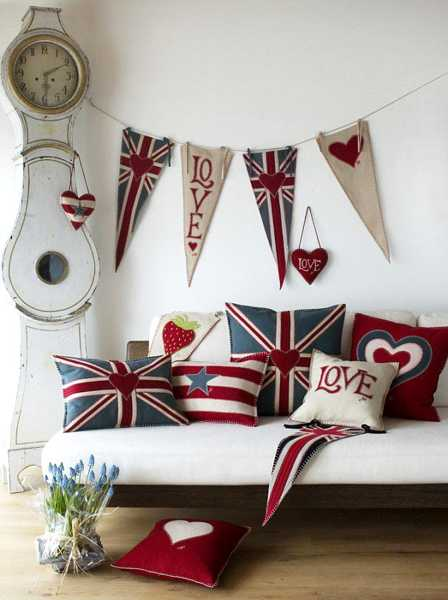 30 patriotic decoration ideas union jack themed decor in for American flag decoration ideas