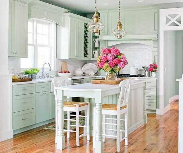 26 modern kitchen decor ideas in vintage style for Classic style kitchen ideas