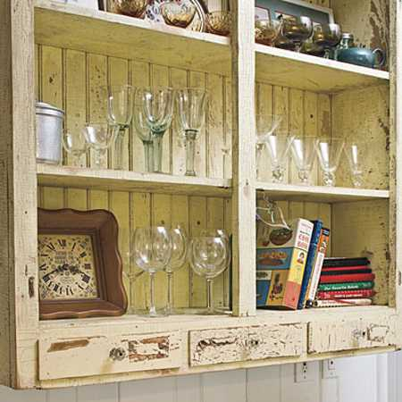 open kitchen storage shelves for dishes vintage style kitchen decor