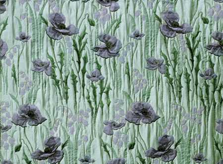 floral wallpaper in green and purple colors for home decorating in modern style