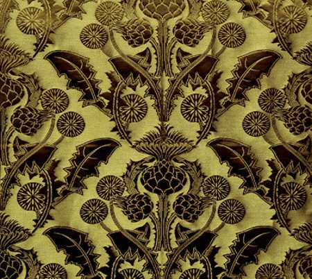 floral wallpaper pattern for interior decorating in modern style