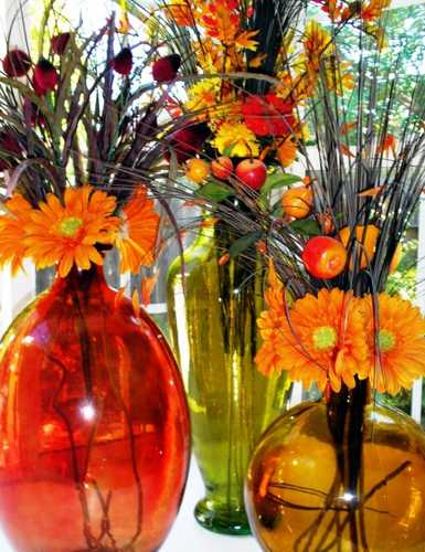 fall flower arrangements for thanksgiving table decoration
