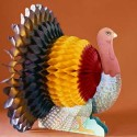 turkey centerpiece idea for thanksgiving decorating
