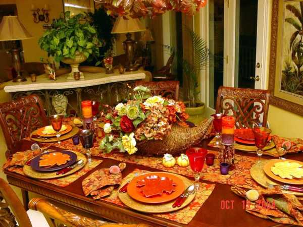 25 thanksgiving decorating ideas individual table Simple thanksgiving table decorations