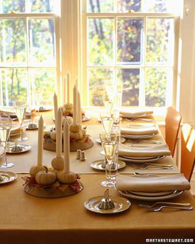 Beautiful Table Centerpieces: 25 Thanksgiving Decorating Ideas, Individual Table