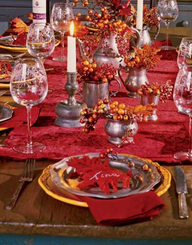 25 thanksgiving decorating ideas individual table Decorating thanksgiving table
