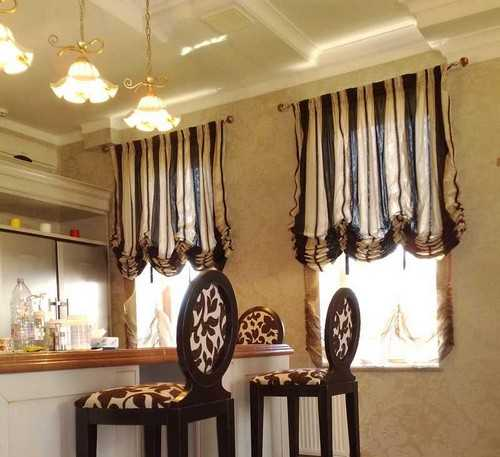 striped kitchen curtains light fabric for balloon curtains in creamy