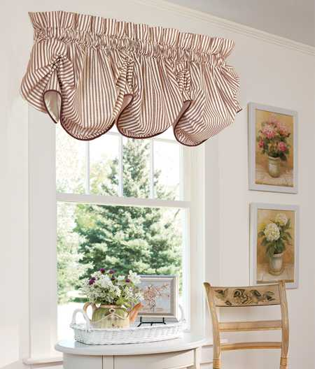 Curtains Ideas country home curtains : 15 Classy Window Decorating Ideas, Balloon Curtains
