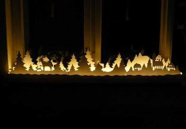handmade christmas decorations for window sill - Christmas Window Sill Decorations Ideas