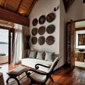 living room design in asian style