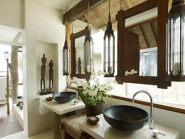 asian interior decorating ideas for bathroom
