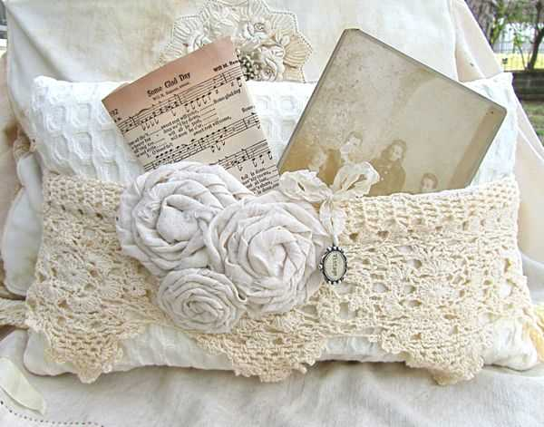 fabric and crochet crafts for home decorating