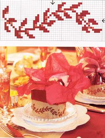 christmas needlework ideas and cross stitch embroidery patterns