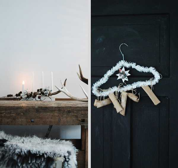 christmas decor ideas in scandinavian style
