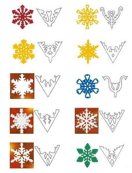 40 Paper Snowflake Garlands for Christmas Decorating ...