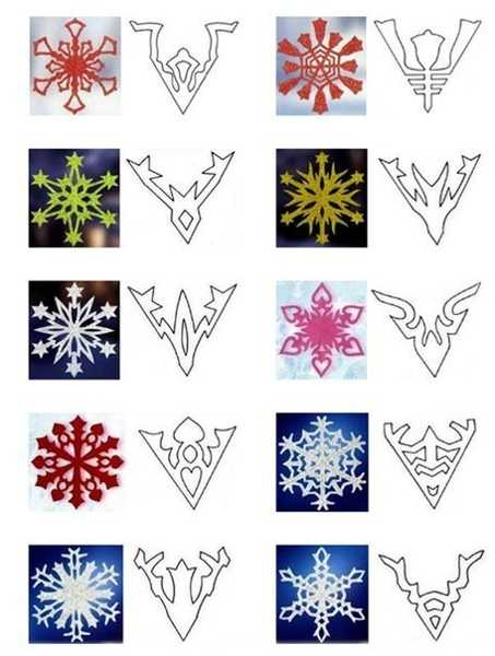 paper snowflakes designs