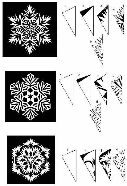 Paper Snowflakes, Universally Appealing Winter Holiday Decorations