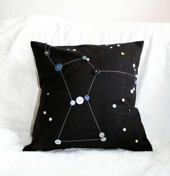 Constellation Pillow Covers Creating Unique Decorative