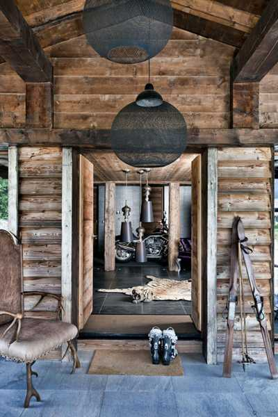 Gorgeous cottage style decor ideas and breathtaking views blend into stunning - Decoration style chalet ...