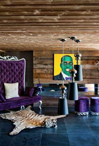 unique furniture and artworks