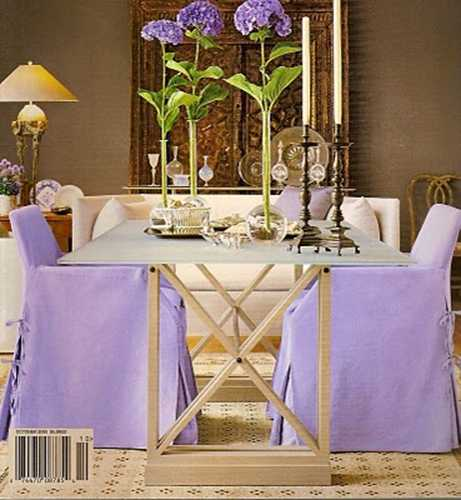 lavender purple chair covers fabric