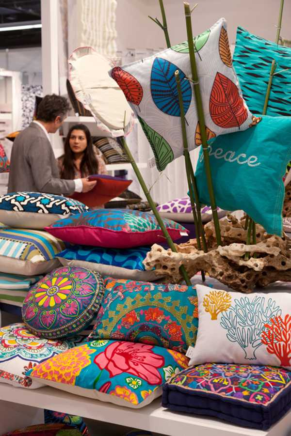 latest trends in decorating fabrics for home accessories
