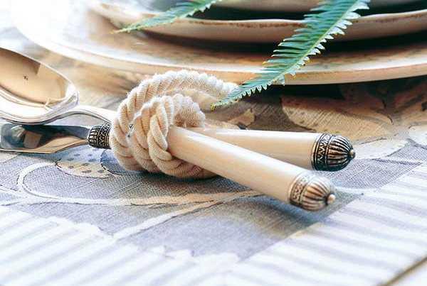 rope napkin rings