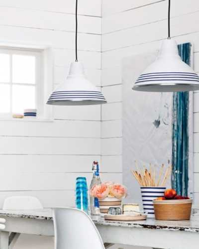 pendant lights with rope lamp shades