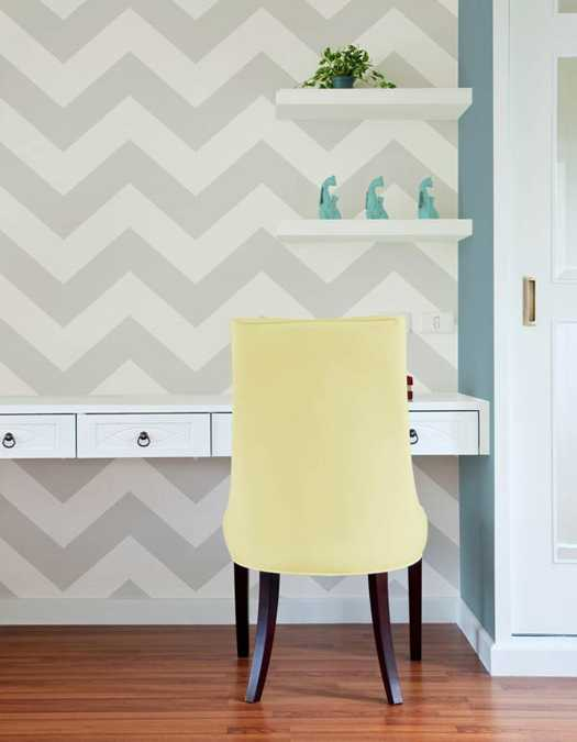 22 Modern Interior Decorating Ideas Using Zigzag Patterns and Fabric ...