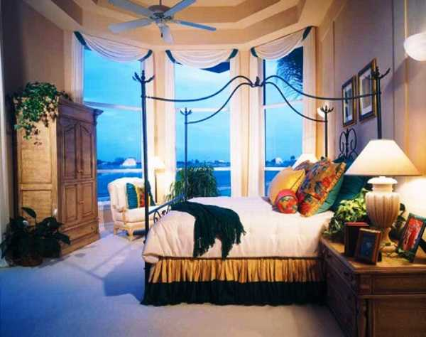 bedroom decorating in mediterranean style