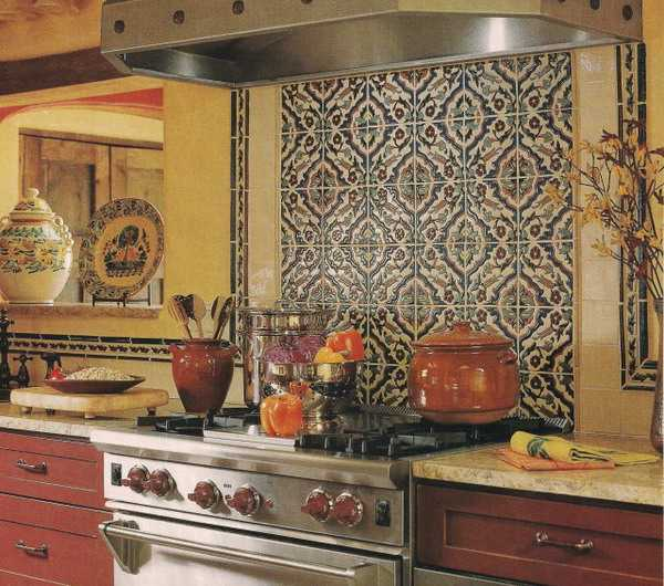 Home decorating in mediterranean style brings unique for Tuscan style kitchen backsplash