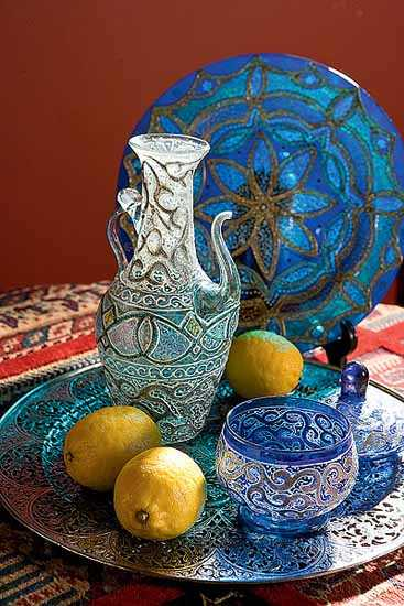 unique morroccan decorations and tableware