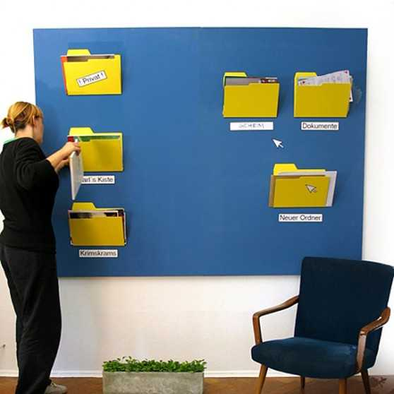 25 creative office decor ideas lighten up office designs and add fun to work - Office wall decor ideas ...