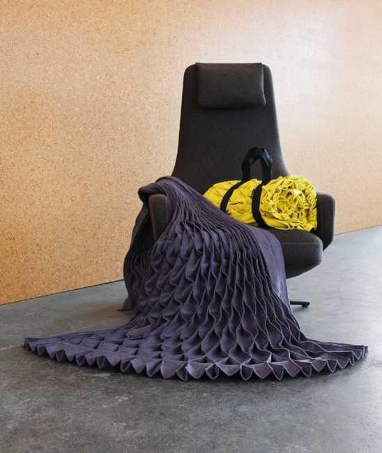 pleated fabrics for interior decorating