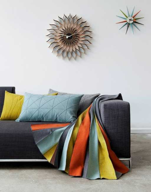 colorful pleated fabrics for home decorating