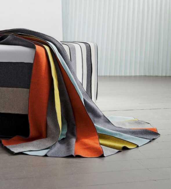 colorful pleated decorating fabrics
