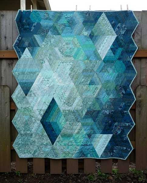 Handmade Quilts In Contemporary Style Make Modern Wall