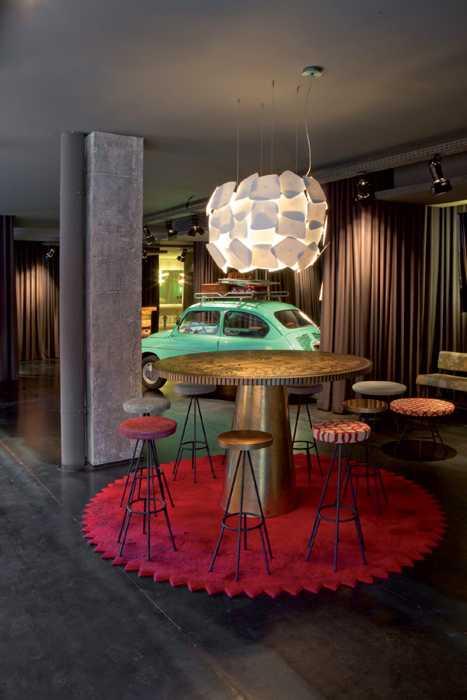 Chic interior design ideas and creative retro decor for Retro design hotel