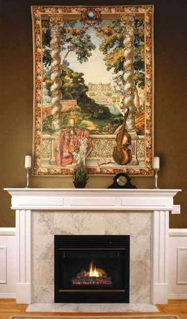 Fireplace decor ideas modern