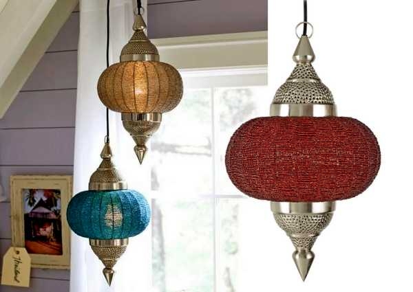 unique lighting fixtures, handmade lanterns indian style