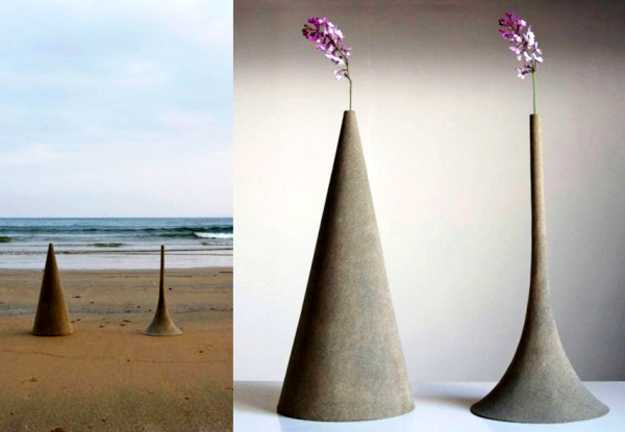 Awesome Made Of Sand Decorative Vases By Yukihiro Kaneuchi Adding Japanese Accents  To Modern Decor Awesome Ideas