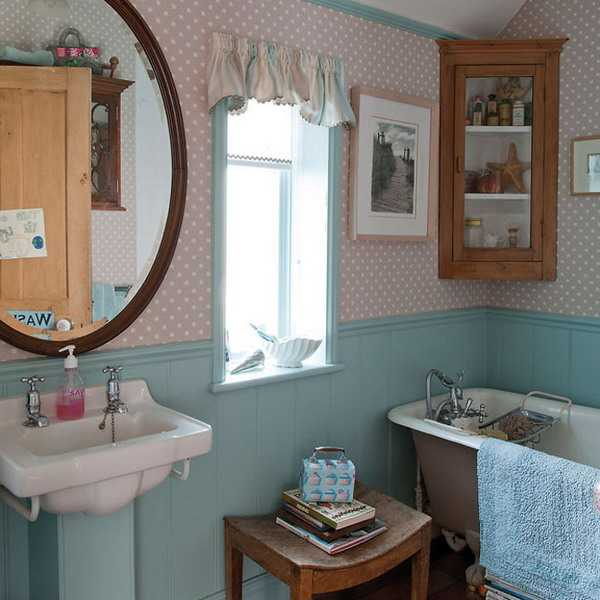 Creative interior decorating in vintage style bringing for Bathroom vintage decor ideas