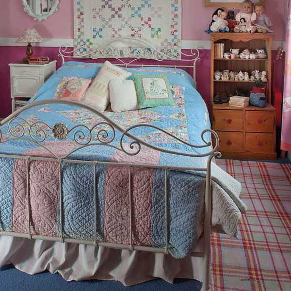 bedroom decorating vintage style