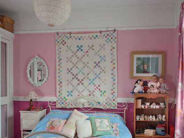 bedroom decorating with handmade home decorations