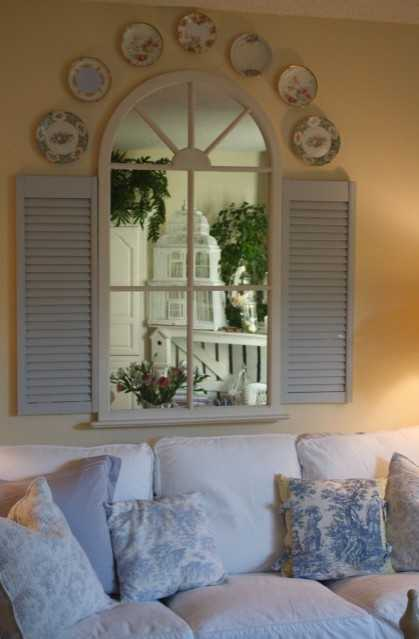 arched window mirror for creating modern wall decor