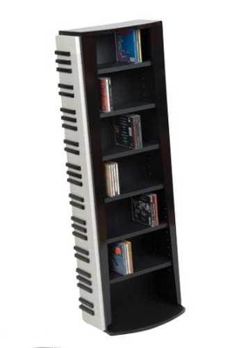 piano shelving unit