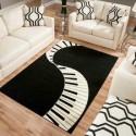 piano floor rug