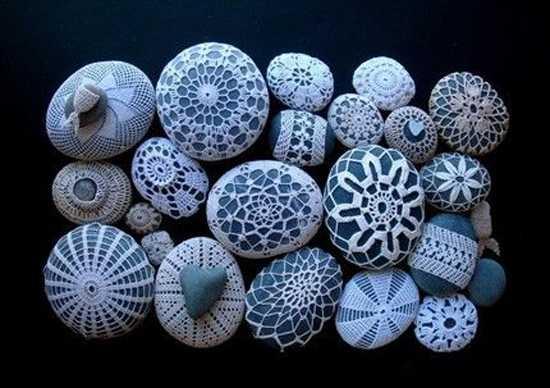 crochet designs for beach pebbles